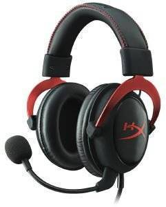 HYPERX KHX-HSCP-RD CLOUD II HEADSET RED ηλεκτρονικά παιχνίδια κονσολεσ   περιφερειακα gaming headsets