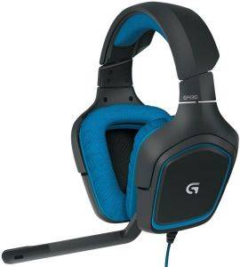 LOGITECH G430 7.1 SURROUND SOUND GAMING HEADSET ηλεκτρονικά παιχνίδια κονσολεσ   περιφερειακα gaming headsets