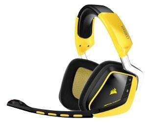 CORSAIR VOID WIRELESS SE DOLBY 7.1 GAMING HEADSET SPECIAL EDITION YELLOW JACKET ηλεκτρονικά παιχνίδια κονσολεσ   περιφερειακα gaming headsets