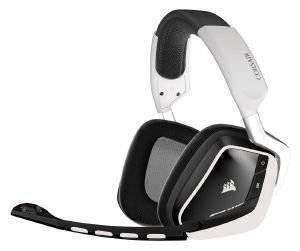 CORSAIR VOID WIRELESS DOLBY 7.1 RGB GAMING HEADSET WHITE ηλεκτρονικά παιχνίδια κονσολεσ   περιφερειακα gaming headsets