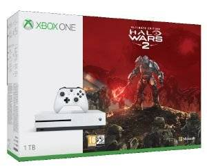XBOX ONE S CONSOLE 1TB - HALO WARS ULTIMATE EDITION ηλεκτρονικά παιχνίδια κονσολεσ   περιφερειακα κονσολεσ