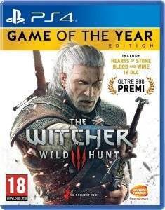 WITCHER 3: WILD HUNT - GAME OF THE YEAR - PS4