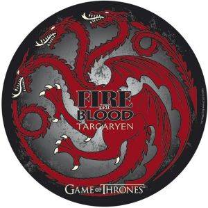 GAME OF THRONES - MOUSEPAD - TARGARYEN - IN SHAPE