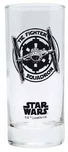 STAR WARS - GLASS TIE-FIGHTER 290ML