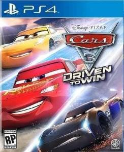 CARS 3 DRIVEN TO WIN - PS4