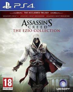 ASSASSIN'S CREED EZIO COLLECTION) - THE ACCLAIMED TRILOGY (INC. AC 2 + BROTHERHOOD + REVELAT - PS4
