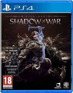 MIDDLE - EARTH: SHADOW OF WAR (INCLUDES FORGE YOUR ARMY) - PS4