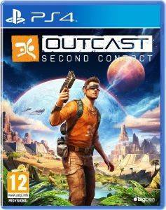 OUTCAST SECOND CONTACT - PS4 ηλεκτρονικά παιχνίδια ps4 games action adventure