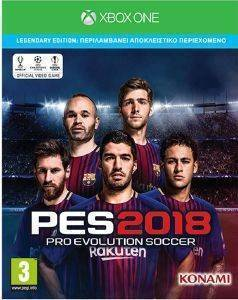 PRO EVOLUTION SOCCER 2018 (LEGENDARY EDITION) - XBOX ONE