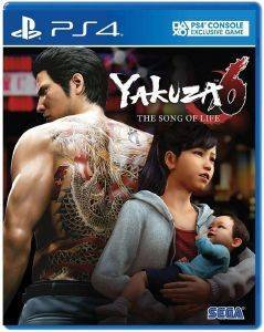 PS4 YAKUZA 6: THE SONG OF LIFE - DAY ONE EDITION (EU)