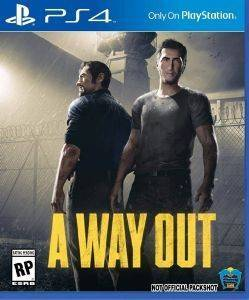 PS4 A WAY OUT (EU) ηλεκτρονικά παιχνίδια ps4 games action adventure