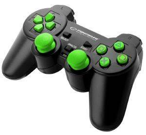 ESPERANZA EGG107G GAMEPAD PS3/PC USB TROOPER BLACK/GREEN