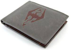 THE ELDER SCROLLS V : SKYRIM - DRAGONBORN LEATHER WALLET (GE2066)