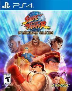 PS4 STREET FIGHTER - 30TH ANNIVERSARY COLLECTION