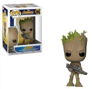 POP! MARVEL: AVENGERS INFINITY WAR - GROOT 293 BOBBLE-HEAD VINYL FIGURE