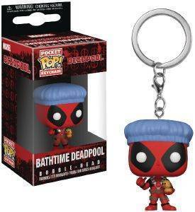 POCKET POP! KEYCHAIN: DEADPOOL PLAYTIME: DEADPOOL BATHTIME
