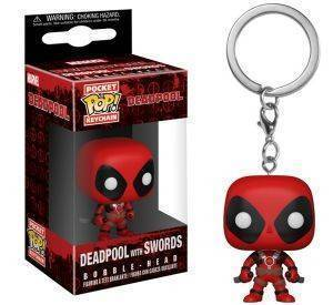 POCKET POP! KEYCHAIN: DEADPOOL PLAYTIME: DEADPOOL W/ SWORDS