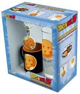 "DRAGON BALL - ""CRYSTAL BALL"" METAL KEYCHAIN + MINI MUG + GLASS GIFT BOX (ABYPCK1 ηλεκτρονικά παιχνίδια video games merchandise gift box"