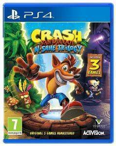 PS4 CRASH BANDICOOT N. SANE TRILOGY 2.0 (EU)