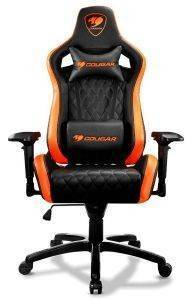 COUGAR ARMOR S BLACK/ORANGE