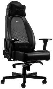 NOBLECHAIRS ICON GAMING CHAIR BLACK/BLACK