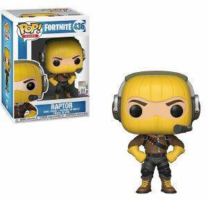 POP! GAMES: FORTNITE - RAPTOR 436 VINYL FIGURE