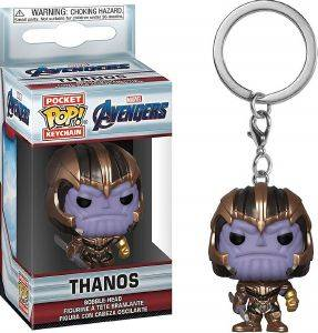 POCKET POP! MARVEL AVENGERS - THANOS VINYL FIGURE KEYCHAIN