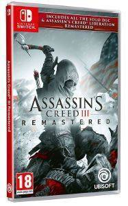 NSW ASSASSIN'S CREED III REMASTERED + A.C. LIBERATION REMASTERED