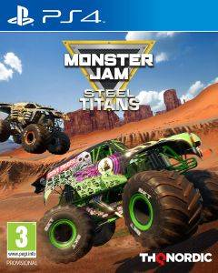 PS4 MONSTER JAM STEEL TITANS - COLLECTOR'S EDITION