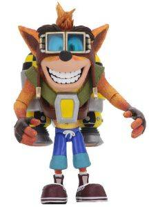 CRASH BANDICOOT - CRASH WITH JETPACK DELUXE ACTION FIGURE (14CM)