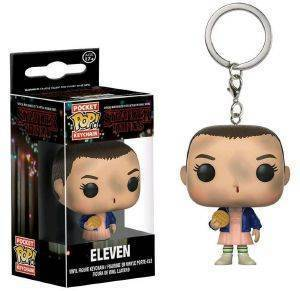 POCKET POP! STRANGER THINGS - ELEVEN VINYL FIGURE KEYCHAIN