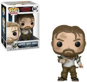 POP! TELEVISION: STRANGER THINGS - HOPPER WITH VINES 641 VINYL FIGURE
