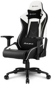 SHARKOON ELBRUS 3 GAMING CHAIR BLACK/WHITE