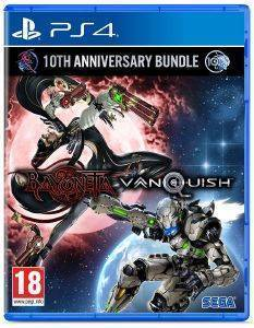PS4 BAYONETTA + VANQUISH 10TH ANNIVERSARY BUNDLE