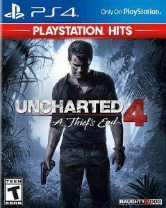 UNCHARTED 4: A THIEFS END  HITS- PS4