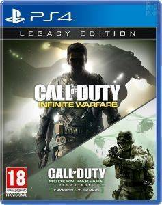 PS4 CALL OF DUTY: INFINITE WARFARE - LEGACY EDITION & TERMINAL BONUS MAP (PLAYSTATION EXCLUSIVE