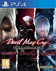 PS4 DEVIL MAY CRY: HD COLLECTION