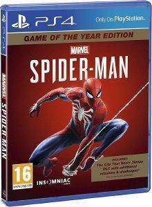 PS4 MARVELS SPIDER-MAN - GAME OF THE YEAR EDITION