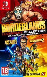 NSW THE BORDERLANDS LEGENDARY COLLECTION