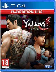 PS4 YAKUZA 6: THE SONG OF LIFE HITS