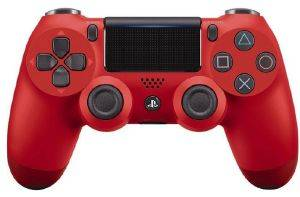 PS4 DUALSHOCK 4 WIRELESS CONTROLLER V2 RED
