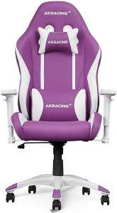 AKRACING CALIFORNIA GAMING CHAIR PURPLE