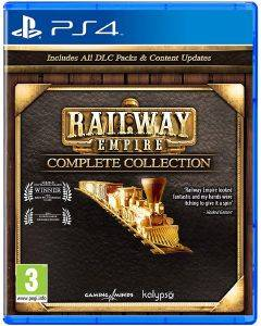 PS4 RAILWAY EMPIRE - COMPLETE COLLECTION