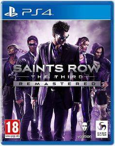 PS4 SAINTS ROW: THE THIRD - REMASTERED