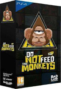 PS4 DO NOT FEED THE MONKEYS - COLLECTORS EDITION