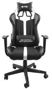 FURY NFF-1712 AVENGER XL GAMING CHAIR BLACK/WHITE