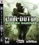 PS3 GAMES - CALL OF DUTY 4 : MODERN WARFARE - PS3