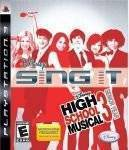 PS3 GAMES - HIGH SCHOOL MUSICAL 3 SING IT
