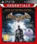 PS3 GAMES - BATMAN ARKHAM ASYLUM GOTY ESSENTIALS - PS3