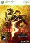 XBOX360 GAMES - RESIDENT EVIL 5 GOLD EDITION - XBOX 360